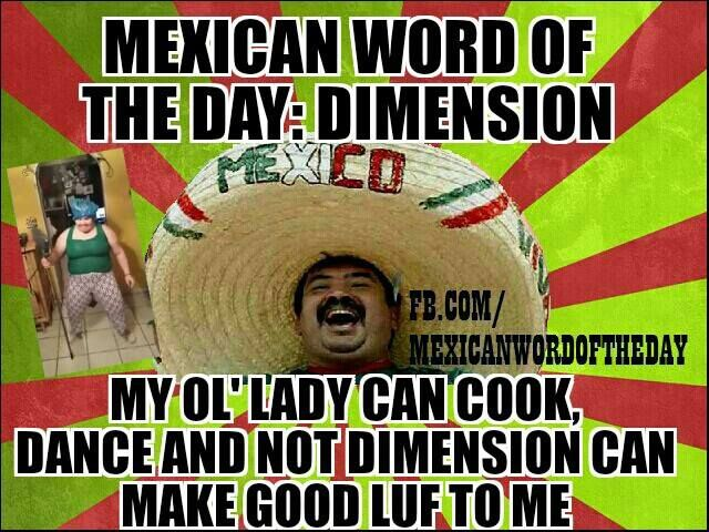 Mexican Word of the Day Dimension