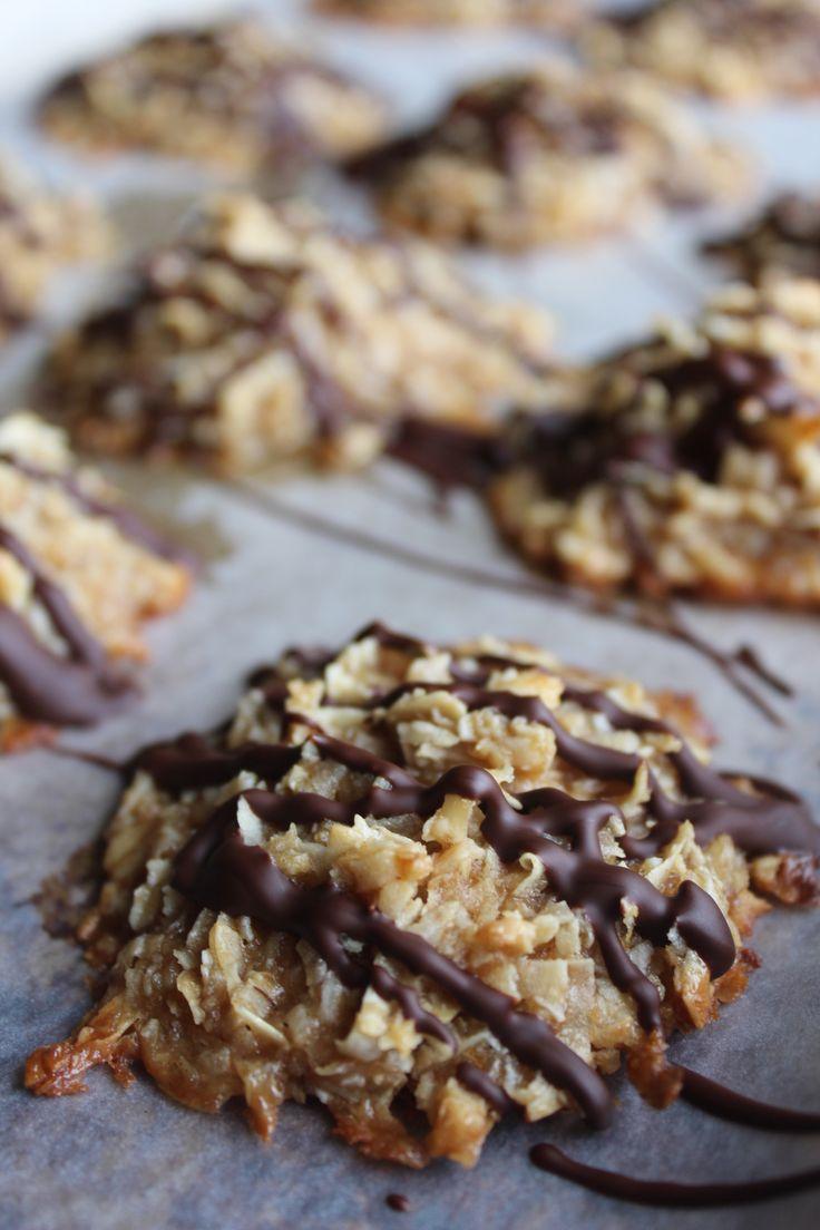 Peanut Butter Coconut Macaroons (gluten Free)