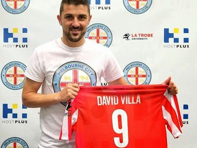 New York City FC new boy David Villa to go out on loan to Manchester City's owned Melbourne City