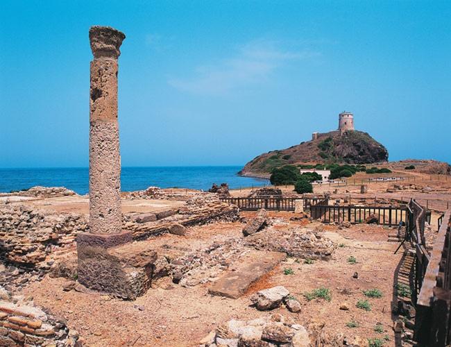 _Sardinia_Roman_temple_at_Nora