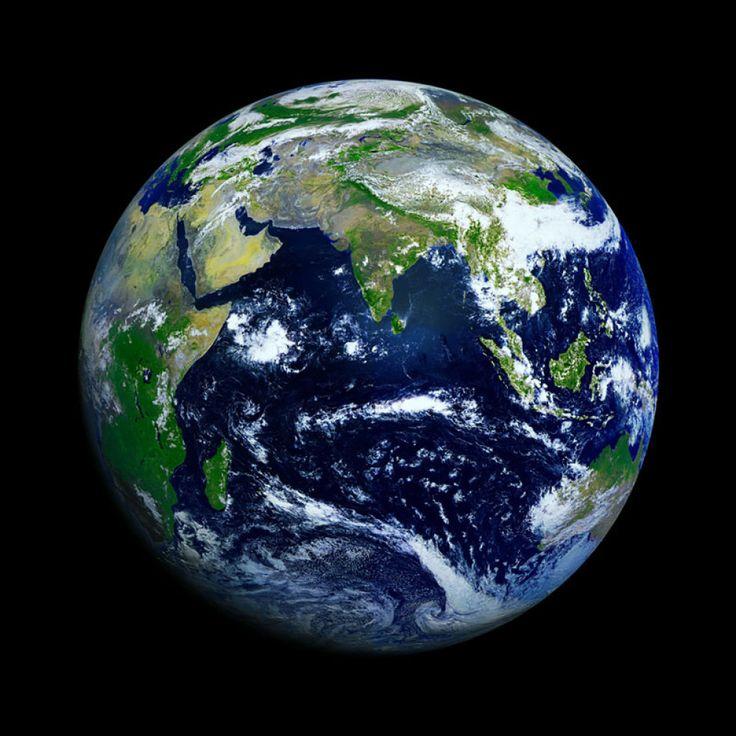 Un satélite ruso capturó la foto de más alta resolución de la tierra jamás tomada desde el espacio.