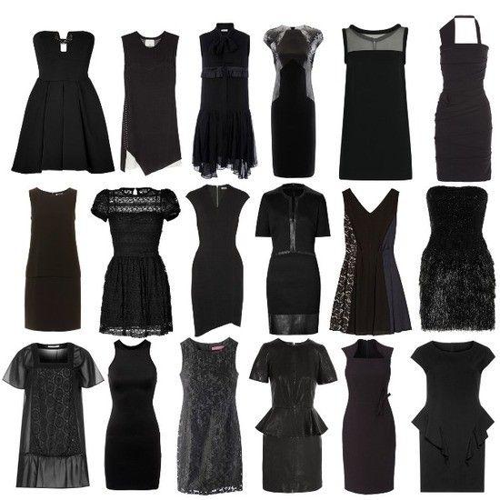 """Wie Ihr schon sehen könnt ist die Auswahl bei dem """"kleinen schwarzen"""" echt riesig.Für eine Party oder vielleicht eine Veranstaltung ist das echt perfekt.♥ Zu kaufen:überall"""