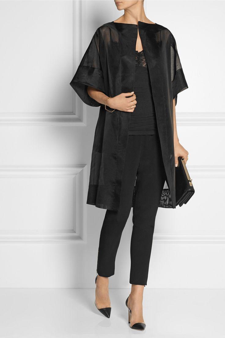 ANTONIO BERARDI Silk-organza coat £739.38 http://www.net-a-porter.com/products/513168