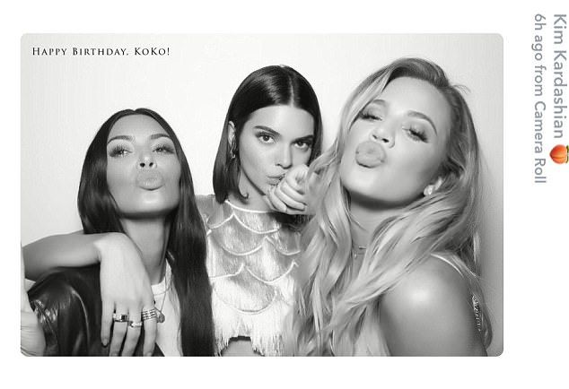 They love pouting: The stunners showed off their very large lips here...