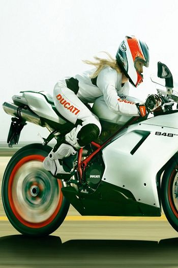 Ducati 848...so make it black and orange#motorcyclegirls #motorcycles