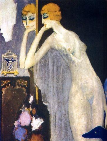 Luisa Casati, 1920's by Kees Van Dongen (Dutch 1877-1968)