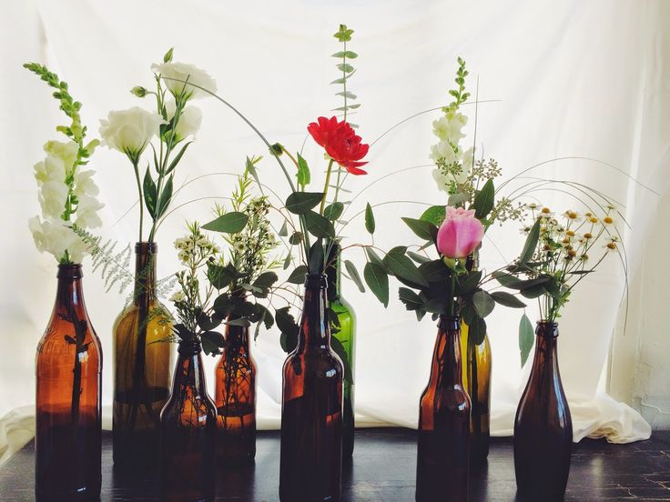 Beer Bottle Wedding Centerpieces Google Search Guest