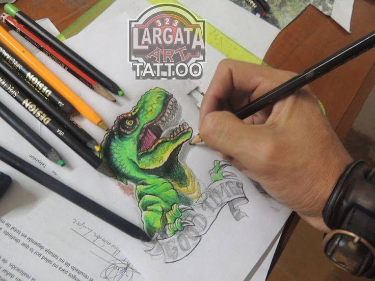 Tatuajes en Puebla. Largata 323 Art Tattoo