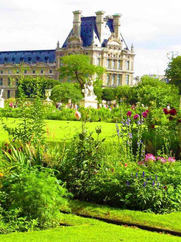 The Tuileries Palace in Paris