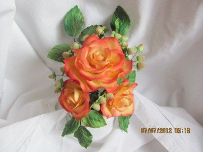 Сахарные розы : Торты (украшения шаг за шагом)