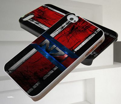 Mass Effect 3 N7 Logo iPhone 4/4s,iPhone 5/5s/5c,Samsung Galaxy S3/S4/S5 Case