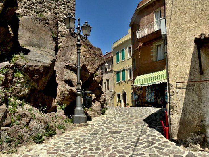 Castelsardo paved streets - Sardinia