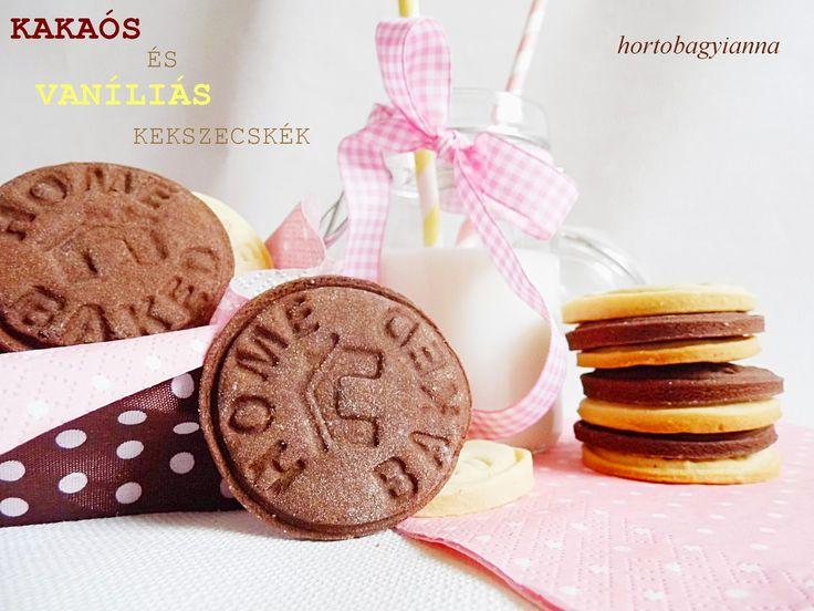 Kakukkfű: Egyszerű kakaós és vaníliás kekszecskék (diabetikus)