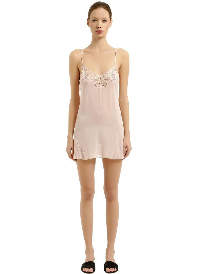 Is Your White Dress See Through Wear These Underneath How To Style A Sheer Dress Sheer Outfit Inspiration La Pe Lace Slip Dress Slip Dress Silk Slip Dress
