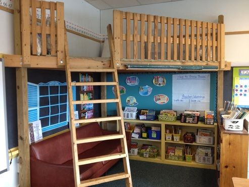 Classroom reading loft