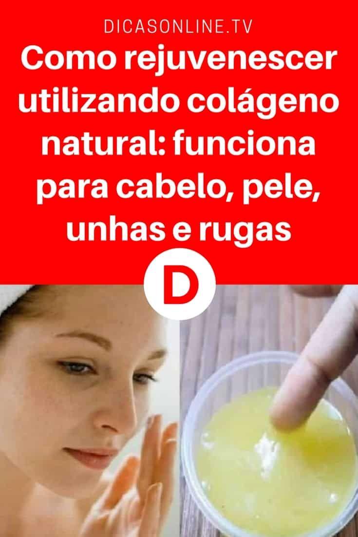 Mais jovem | Como rejuvenescer utilizando colágeno natural: funciona para cabelo, pele, unhas e rugas