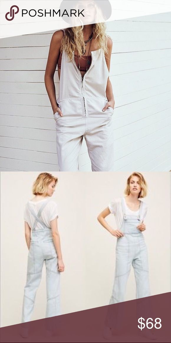 Free People Painter Overalls New with tags size small brand new never worn in splendid condition Free People Other