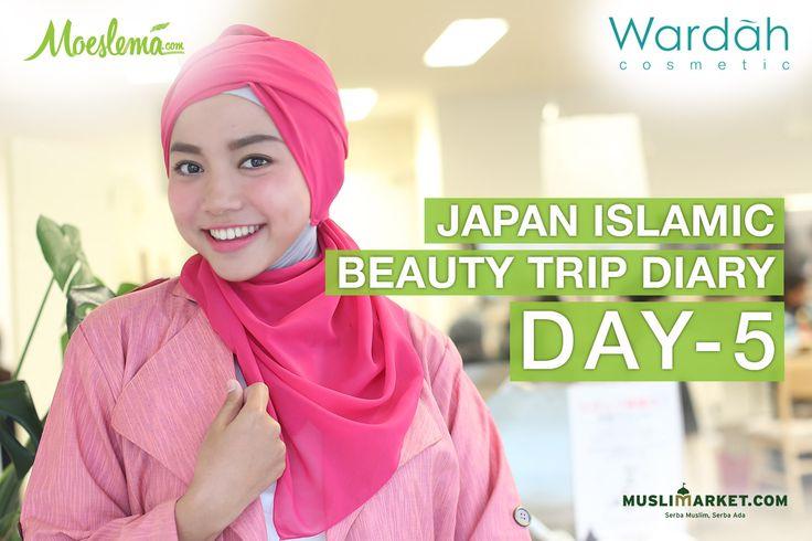 Japan Islamic Beauty Trip: Rainy Spring in Asakusa