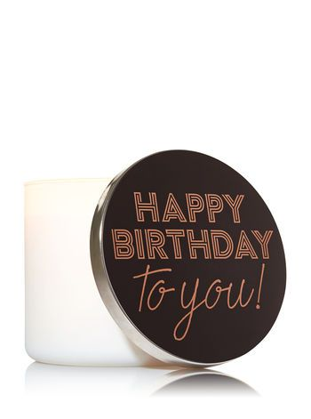 Happy Birthday Candle Lid Magnet