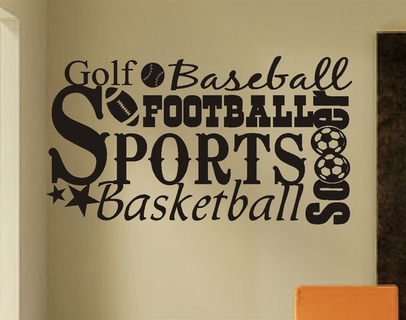 Cute for sports nursery