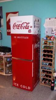 Kühl-Gefrierkombination im Coca Cola Look in Nordrhein-Westfalen - Bergheim | Kühlschrank & Gefrierschrank gebraucht kaufen | eBay Kleinanzeigen