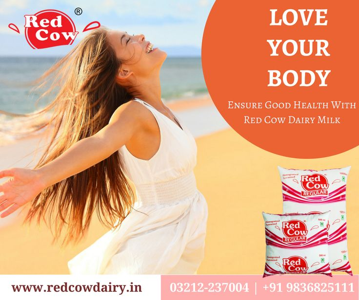 Start the Week in fresh & healthy feeling with Red Cow Dairy Regular Milk Order now: +91 9836825111