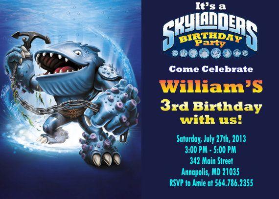 62 best Skylanders Birthday Party images on Pinterest Skylanders