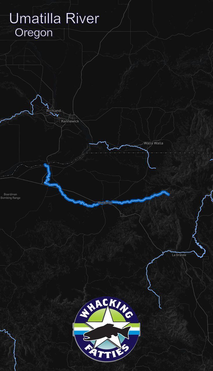 Map Of Oregon Breweries%0A Fishing Report Umatilla River