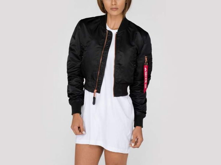 Alpha Industries Women Flight Jacket | MA-1 Cropped Wmn Article no.176006 Brace yourself, for this is a 1990s trigger warning! This is a short list you will absolutely love when you were coming of age in the 1990s: the Backstreet Boys,...