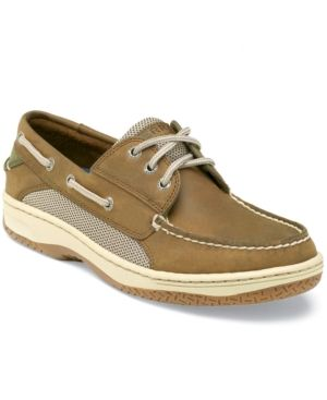 Sperry Men's Billfish 3-Eye Boat Shoe - Tan/Beige 11.5