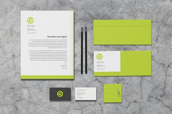 25 Unique and Modern Letterhead Examples - DesignsLayer