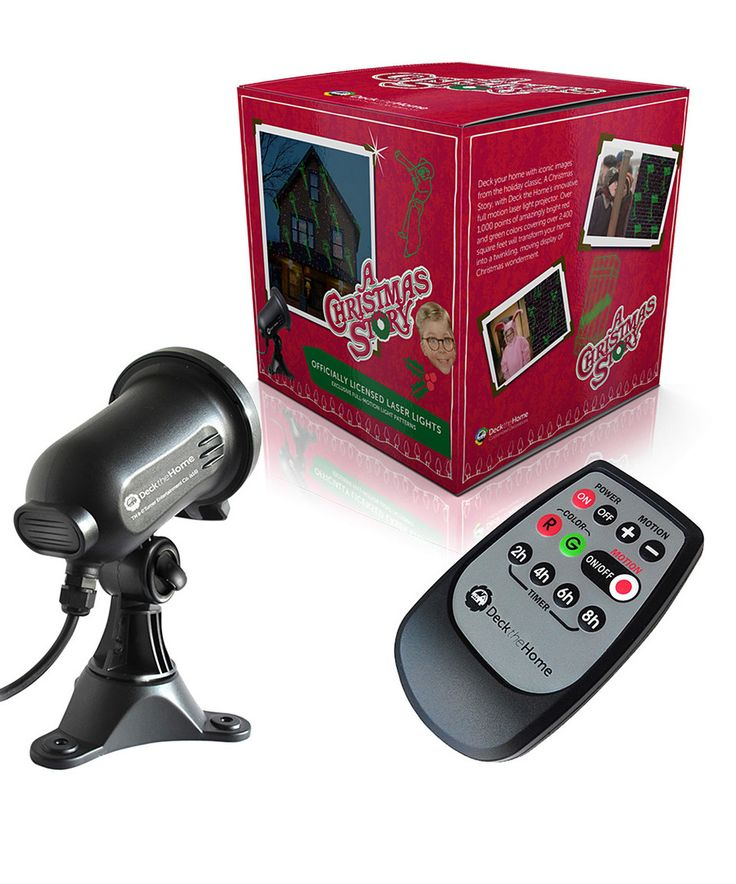 Look what I found on #zulily! A Christmas Story Holiday Laser Light Projector by Deck the Home #zulilyfinds