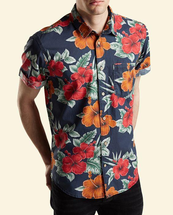 Eric said he'll wear a Hawaiian shirt for Hay's luau party :)