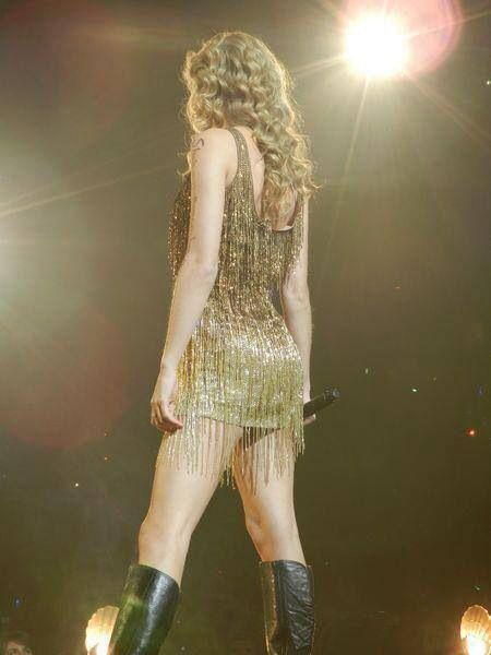 """I like glitter and sparkly dresses..."""