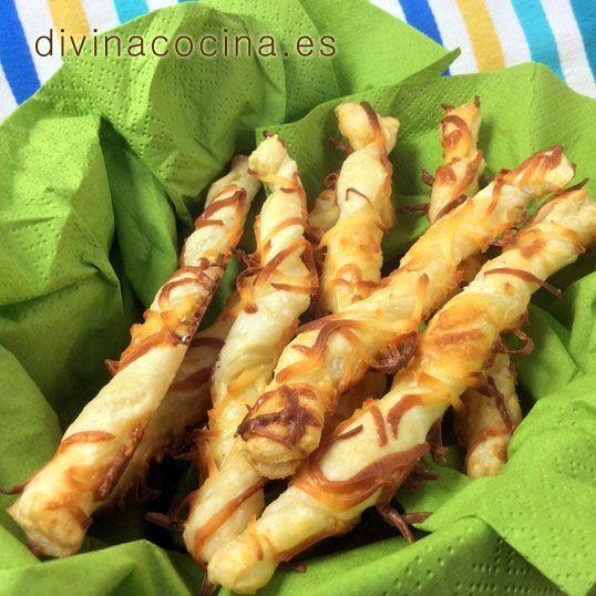 Palitos de queso » Divina Cocina