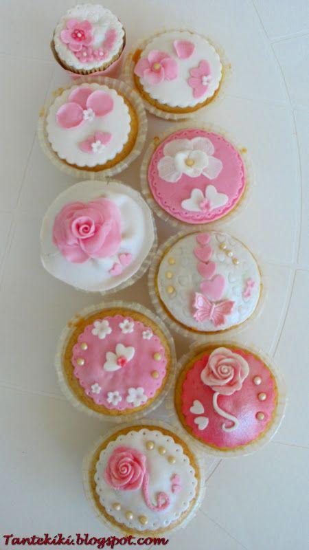 Tante Kiki: Το καλοκαιρινό κέικ που έγινε ... ροζ cupcakes!!!