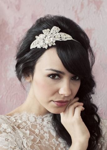 Genevieve | Sarah Seven: Vintage Inspired But Decidingly Modern: Hair Piece, Sarah Seven, Wedding Hair, Wedding Ideas, Headpiece, Makeup, Hairstyles Accessories, Hair Style, Beauty