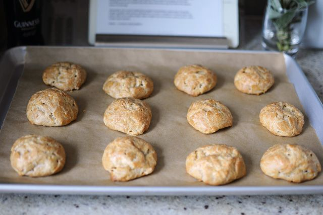 Gougères {with Guinness & Cheddar} | The Munchies | Pinterest