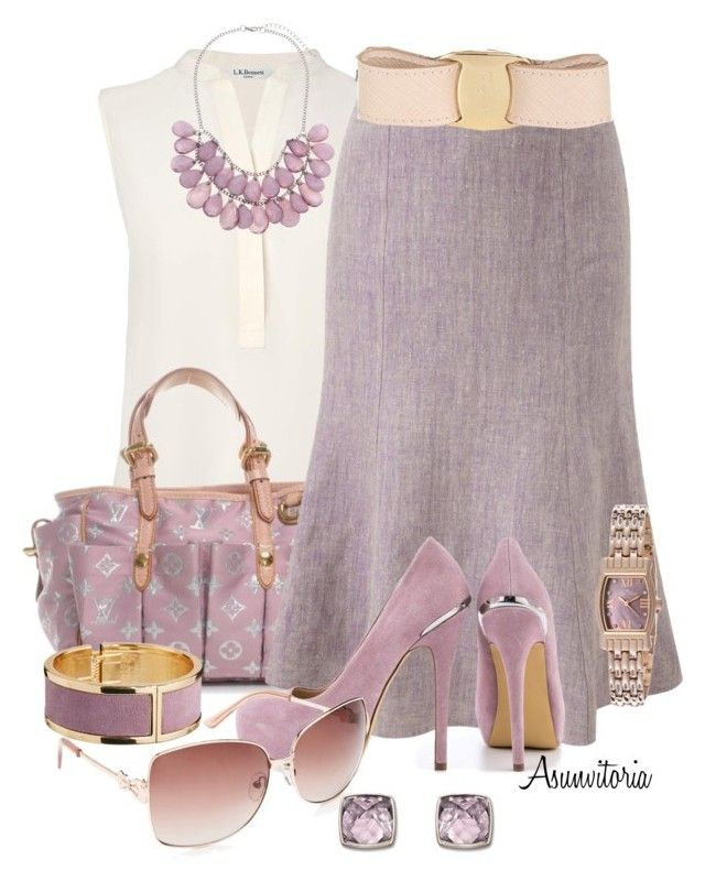 Sin título #1509 by asunvitoria on Polyvore featuring polyvore, fashion, style, L.K.Bennett, CC, ShoeMint, Tokyo Jane, John Lewis, Lucien Piccard, Swarovski, Forever New, Salvatore Ferragamo and clothing