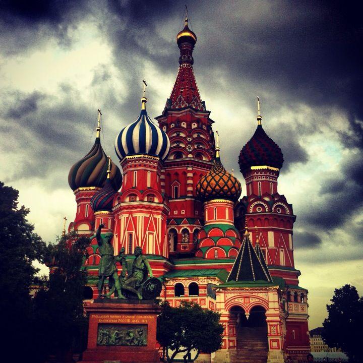Красная площадь / Red Square in Моscow