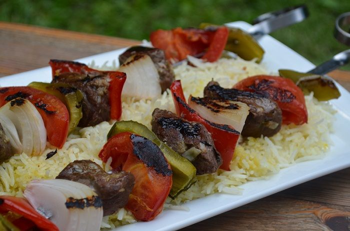 Beef Kabobs with Grilled Vegetables - My Halal Kitchen | Inspiration for Wholesome Living - with Yvonne Maffei