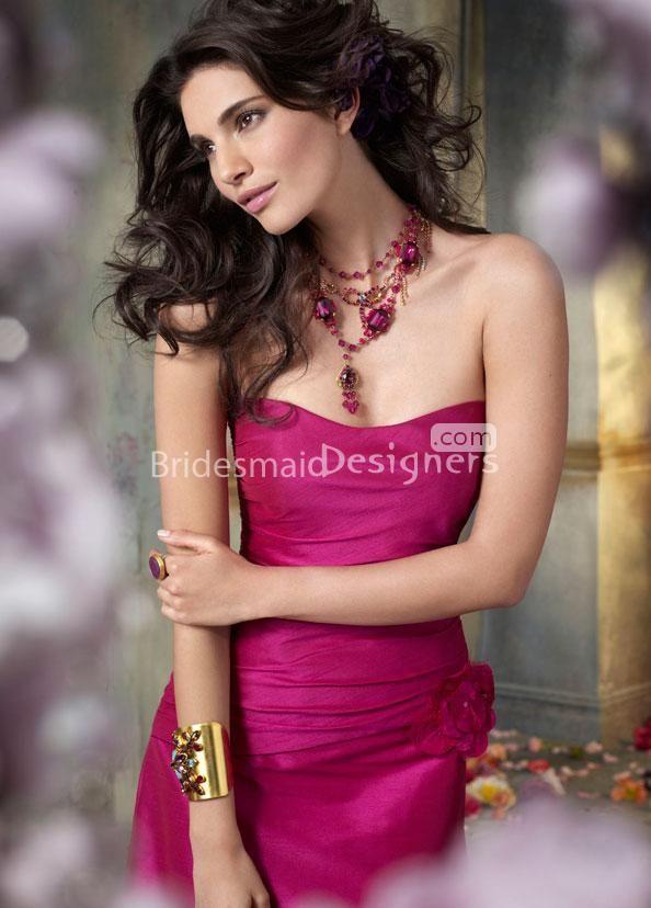 Mejores 29 imágenes de Fuschia Bridesmaid Dresses en Pinterest ...