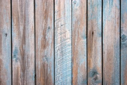 DIY Wood Stain, using rusty nails