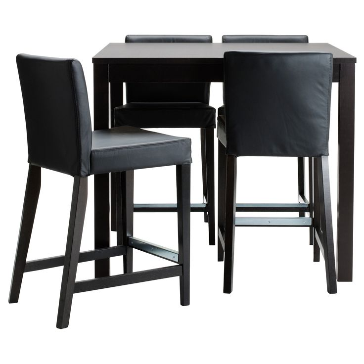 ... Bar table and 4 bar stools - IKEA -- i want a bar height table i think