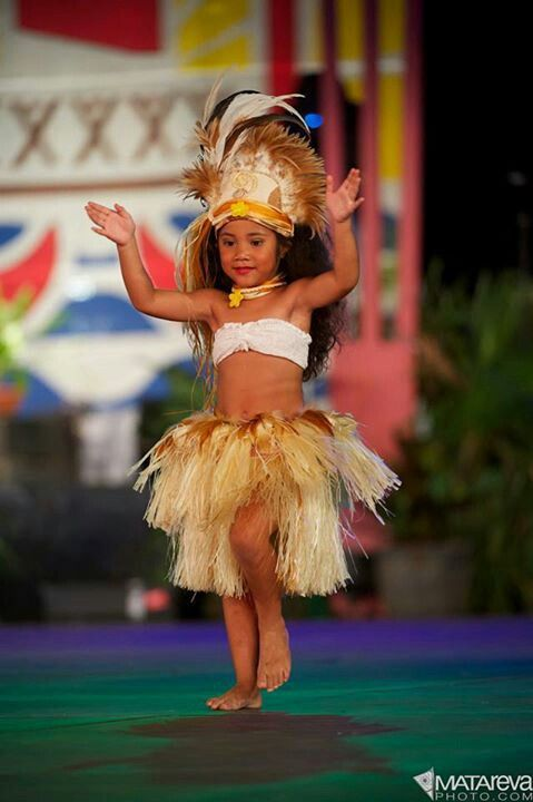 So cute! I can't wait for my little Taimane to be involved in her culture like this.