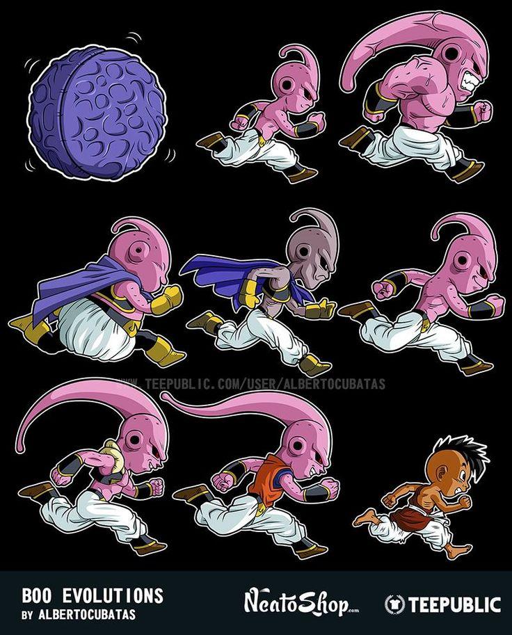 Dragon Ball Buu Evolution