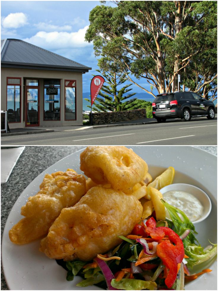 Waterfront dining in #Swansea #Tasmania. Article and photos for www.think-tasmania.com