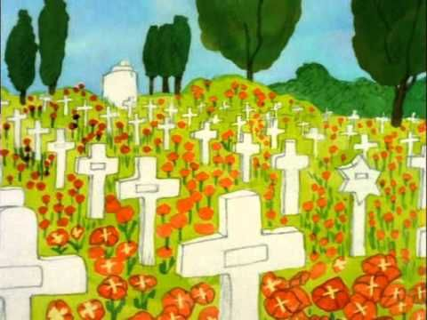 remembrance day/flanders fields clip - charlie brown