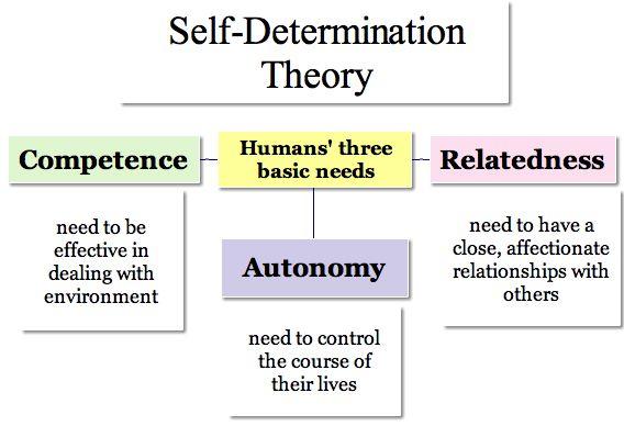 self-determination theory three needs