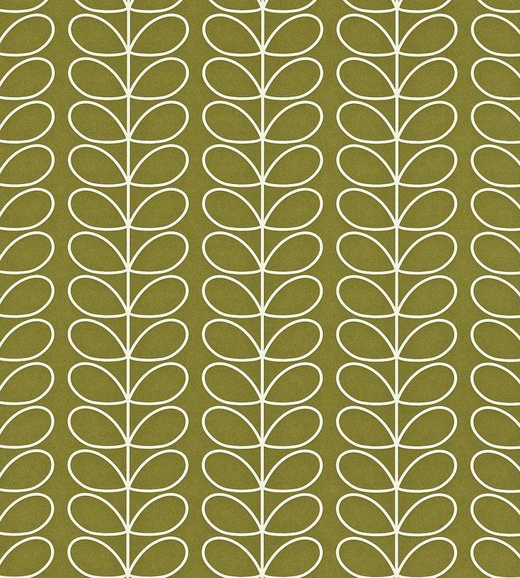 70s Interior Design Revival   Linear Stem Wallpaper by Harlequin   Jane Clayton